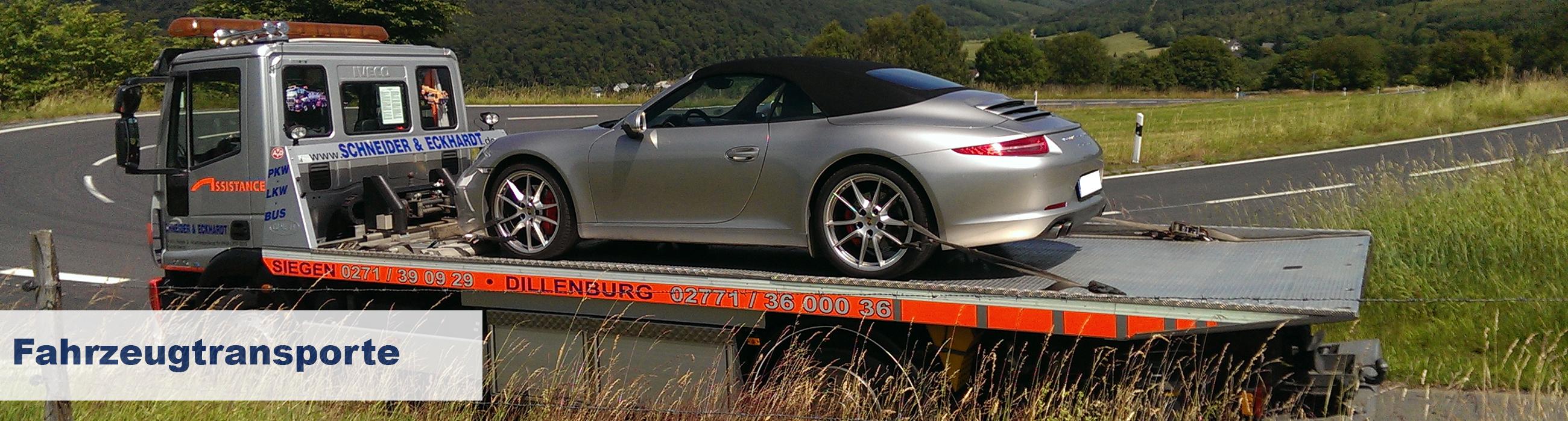 Fahrzeugtransporte - ob alt oder neu!